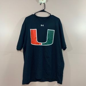 Under Armour Miami Hurricanes College Tee